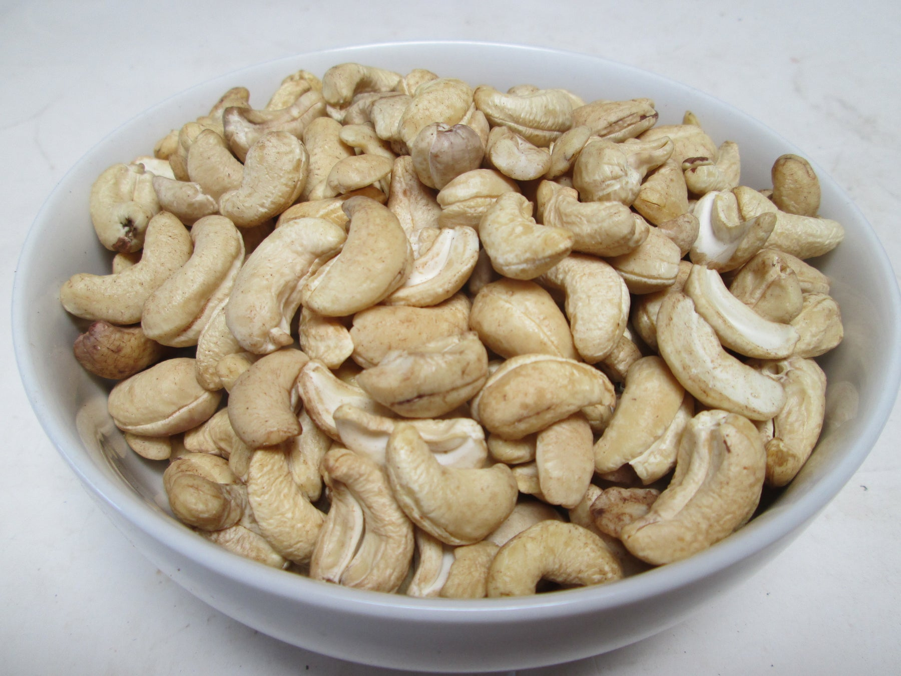 Organic Raw Whole Cashews, 25 lbs ($7.50/lb)
