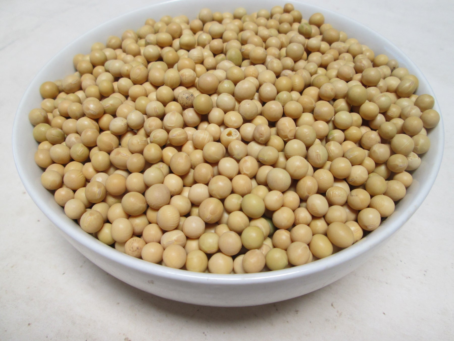 Organic Raw Soybeans, 25 lbs / case