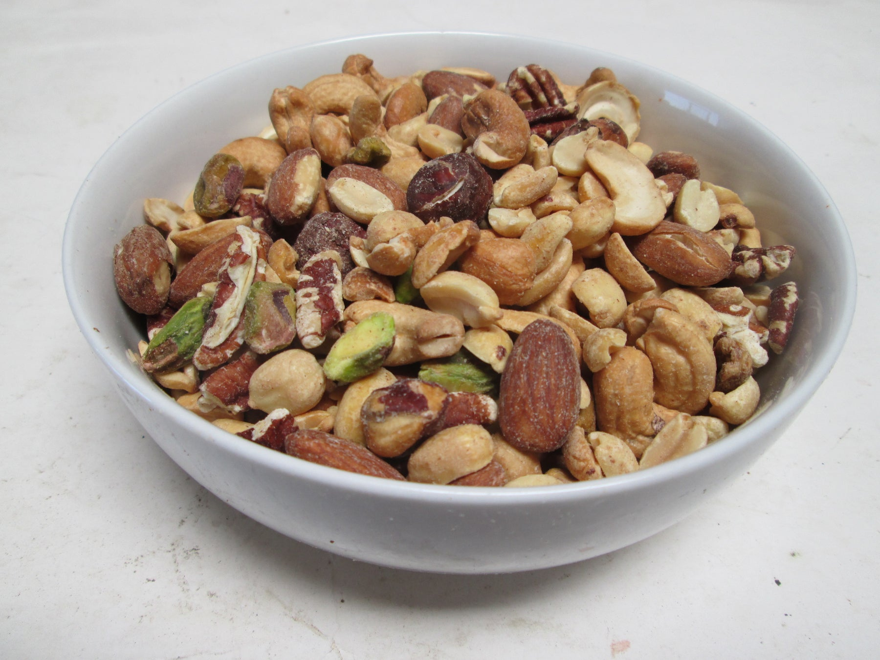 Deluxe Mixed Nuts- Roasted & Salted (No Peanuts), 25 lbs/bag