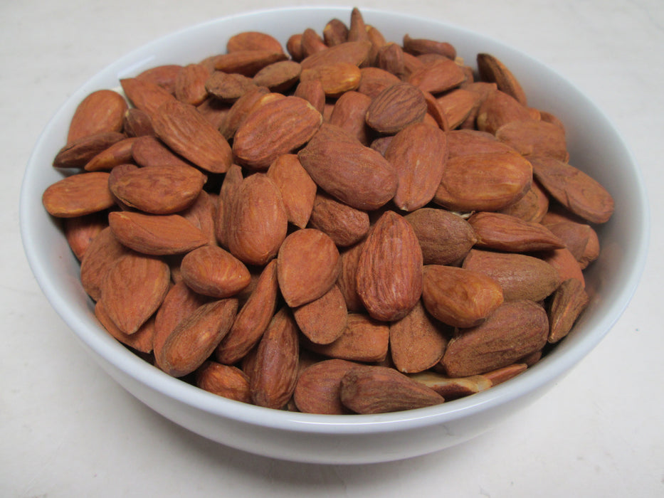 Organic Raw Shelled Almonds, 25 lbs/case