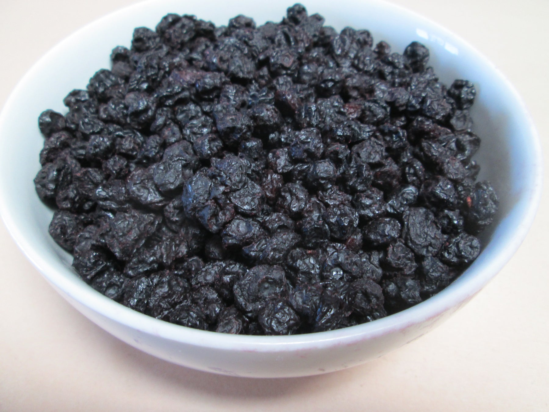 Organic Cultivated Dried Blueberries , 20 lbs / case