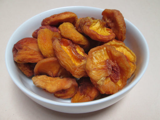 Dried Fancy Yellow Peaches, 25 lbs/case