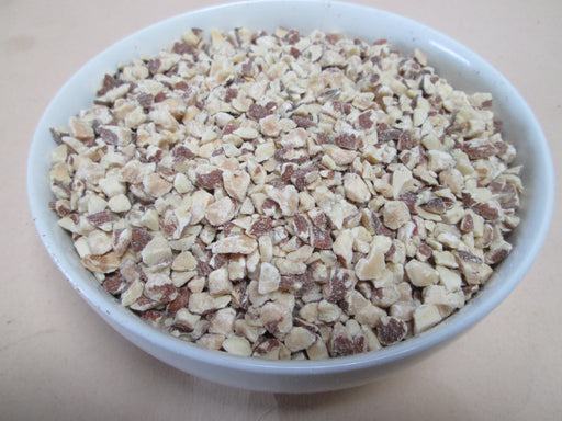 Roasted & Chopped ( Diced ) Almonds, 25 lbs / case