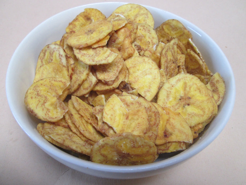 Plantain Chips, Roasted & Salted 20 lbs / case