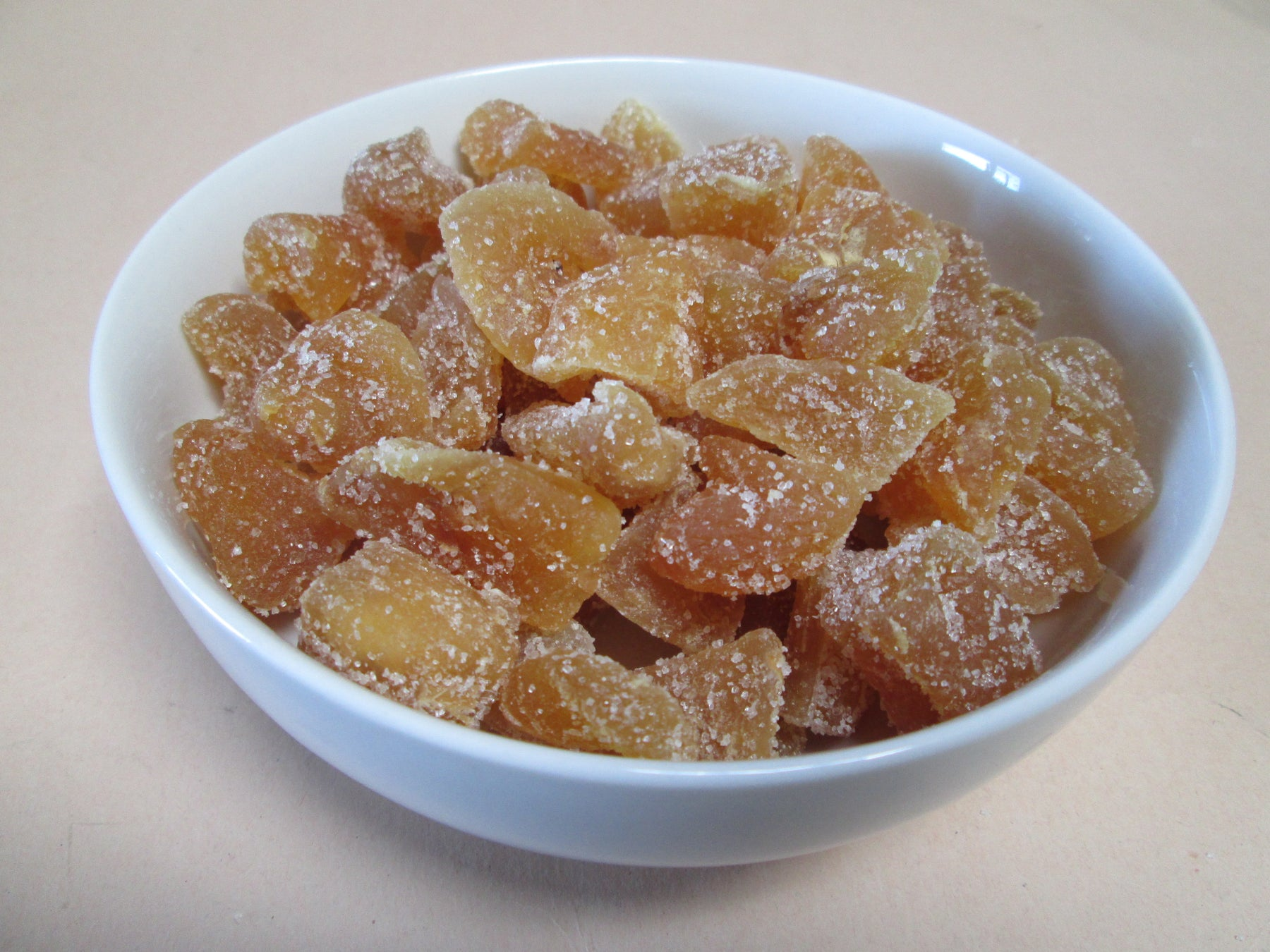 Natural Crystallized Ginger Chunks (Candied) 22 lbs / case