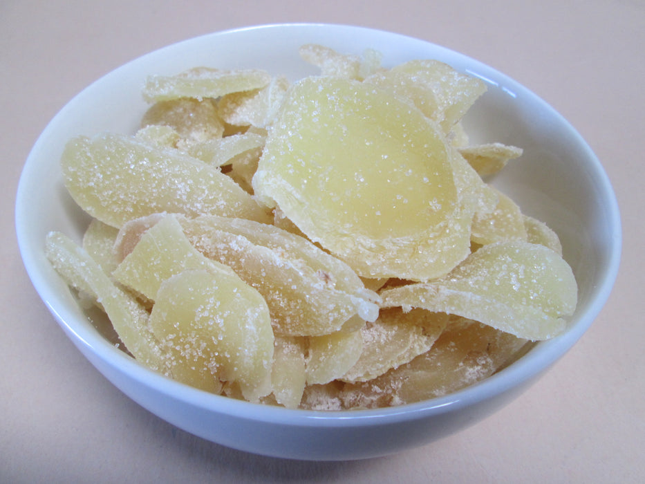 Crystallized Ginger Slices (Candied) 22 lbs / case