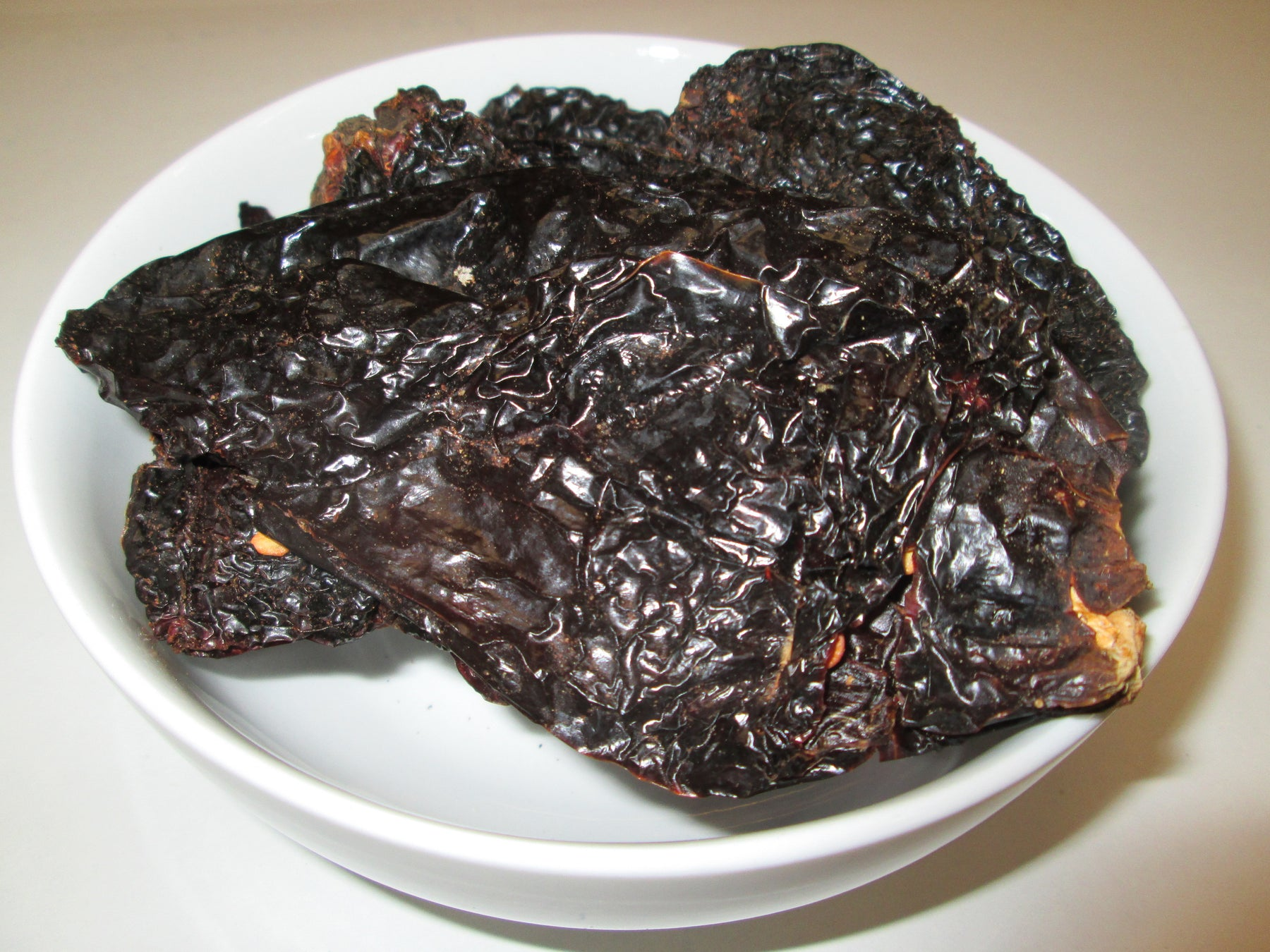 Dried Ancho Chiles, 25 lbs