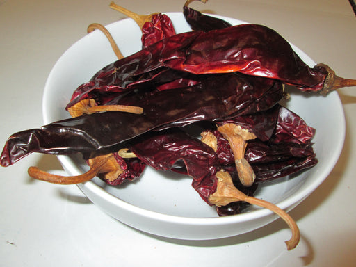 Dried California Chili Peppers, 25 lbs