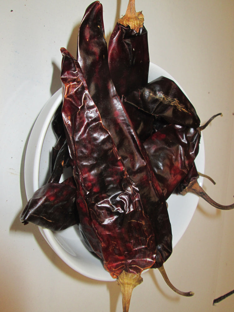 Dried Guajillo Chiles, 25 lbs
