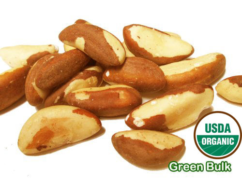 Organic Raw Brazil Nuts, 44 lbs / case