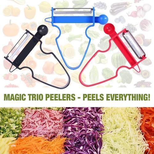 MAGIC TRIO PEELERS [SET of 3PCs](2019 Upgraded)
