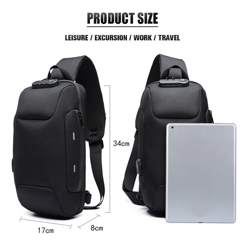 Anti-theft Backpack With 3-Digit Lock [2019 version]