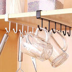 Cabinet Hook Mug Holder [2019 Upgraded]
