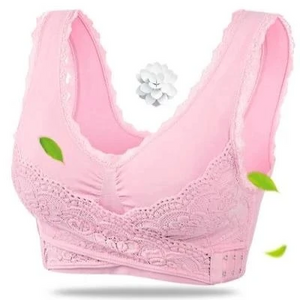 Seamless Lift Bra with Front Cross Side Buckle (From S to XXXL)