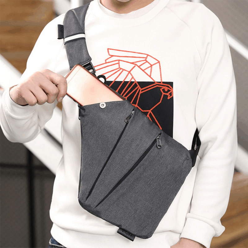 Multi Pocket Messenger Bag