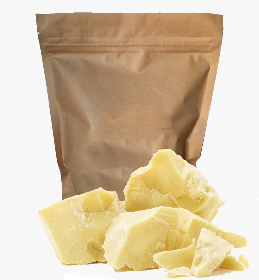 100% Pure (Raw) Cocoa Butter | Freshly Harvested with Rich Chocolaty Flavor | Vitamin E, F, & K | Superior Hydration & Moisture Barrier For Winters