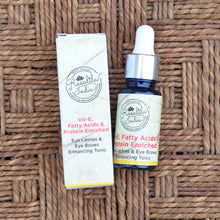 Load image into Gallery viewer, Eyelashes and Eyebrows Serum | Vitamin E | Fatty Acids | Protein Enriched | Anti-oxidants | 15 ml