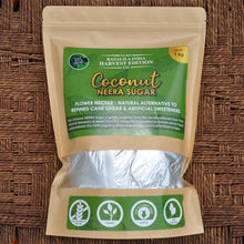 Load image into Gallery viewer, 100 % Organic Coconut (Neera) Sugar - 1 kg | Natural Sweetener | Rich Source Of Potassium | Combats Water Retention And Mineral Imbalance