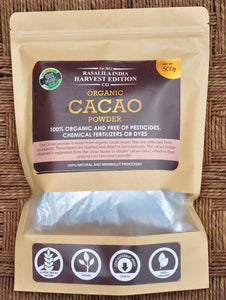 100% Organic Cocoa Powder - 500 g | Loaded with Antioxidants & Calcium | Plant-based Source Of Iron | Reduces High Blood Pressure
