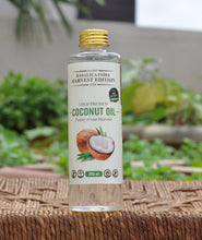 Load image into Gallery viewer, 100 % Organic Raw (Pure) Coconut Oil | Cooking Oil - Helps With Weight Loss & Cholesterol Levels | Rich Moisturization For Skin | Prevents Keratin Loss & Frizzing of Hair