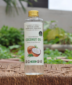 100 % Organic Raw (Pure) Coconut Oil | Cooking Oil - Helps With Weight Loss & Cholesterol Levels | Rich Moisturization For Skin | Prevents Keratin Loss & Frizzing of Hair