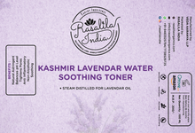 Load image into Gallery viewer, Alcohol-Free Toner | 100 ml | Pack of 2 | Hydrating & Soothing Water Astringent | Kashmir Lavender