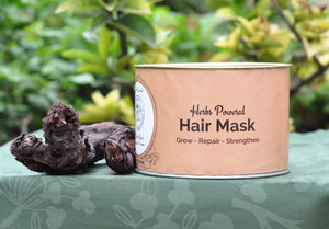 Dry Hair Mask | 280 g | Harvest Herbs Infused | Anti-Hair Fall & Thinning | Eco-friendly packing