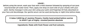 Exotic Madurai Jasmine Serum | For Soft Skin | Scarred Skin | Promotes Blood Circulation | With Anti-aging Benefits | Exotic Scent | 15 ml