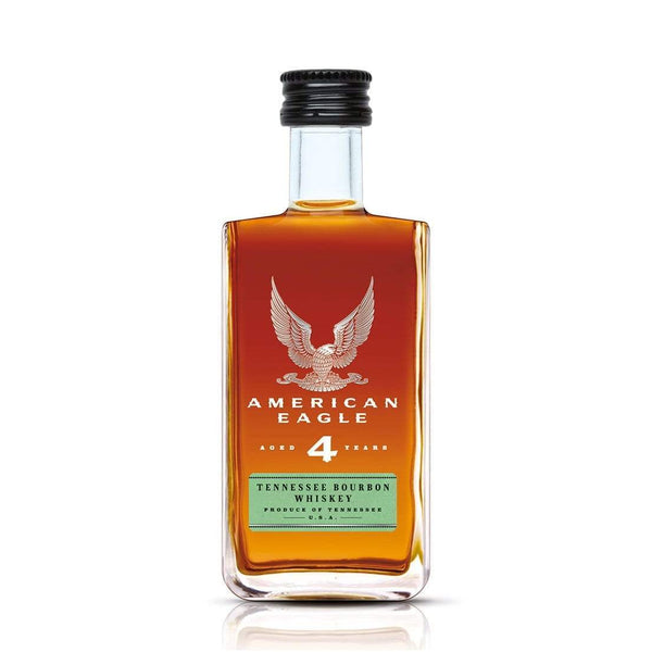 American Eagle Miniature Bourbon Whiskey - 5cl