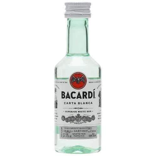 Bacardi Superior Rum Miniature - 5cl