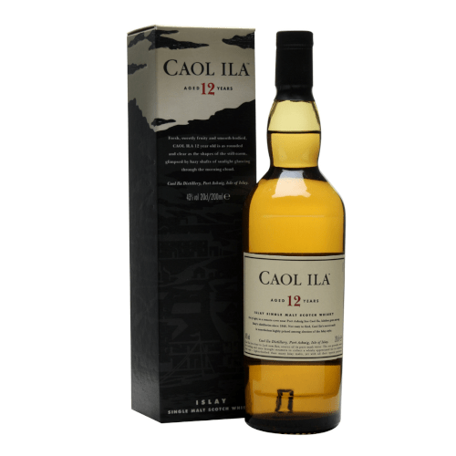 Caol Ila 12 yr Single Malt Scotch Whisky - 20cl