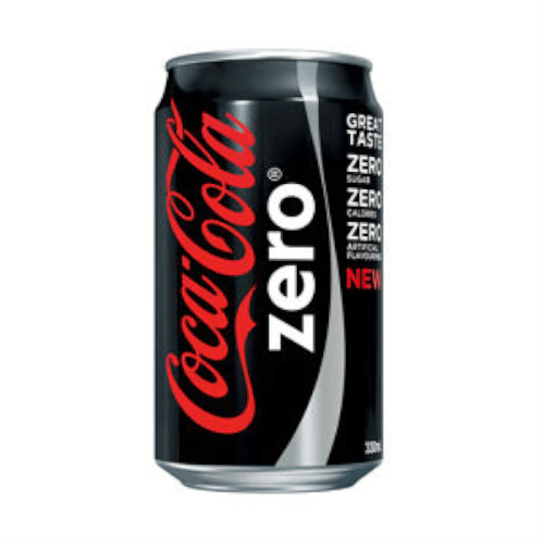 Coca Cola Zero Cans 330ml
