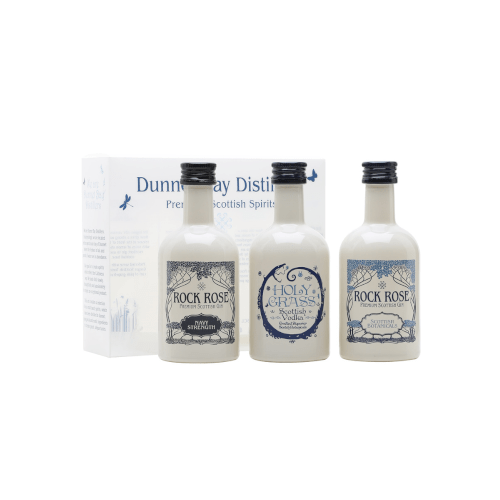 Dunnet Bay Miniature Spirit Selection - 3 x 5cl