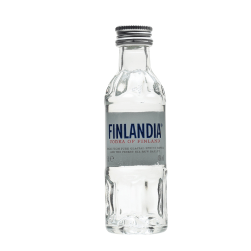 Finlandia Plain Vodka Miniature - 5cl