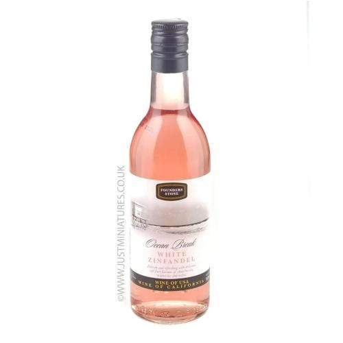 Founders Stone White Zinfandel Rose Wine Miniature - 18.75cl