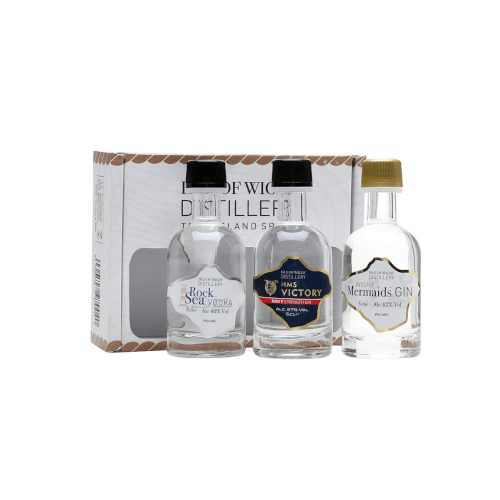 Isle of Wight GIN Miniature Spirit Selection - 3 x 5cl