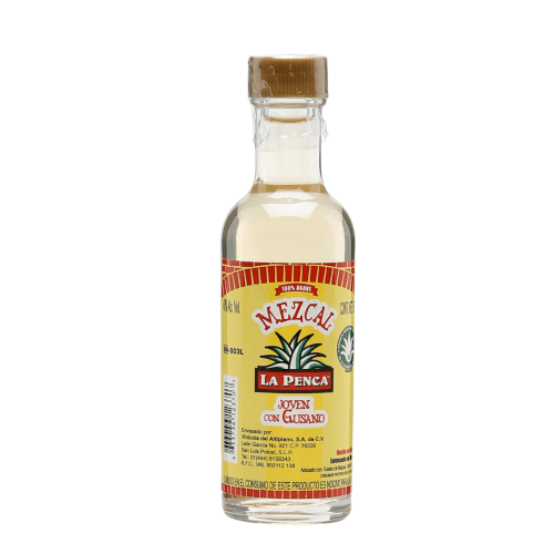 Mezcal La Penca Miniature (With Worm) - 5cl