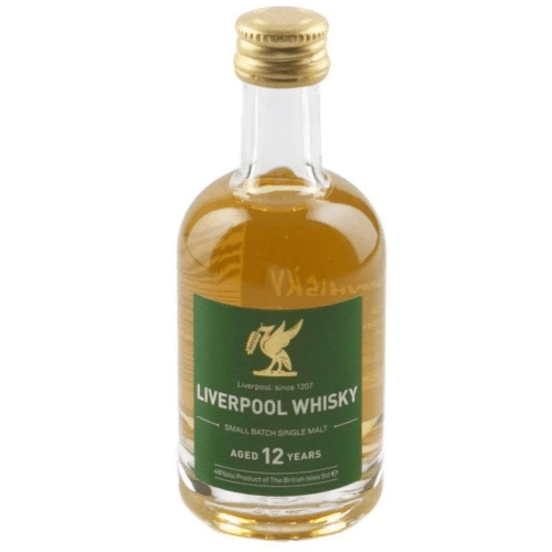 Liverpool Small Batch 12 year Single Malt Whisky Miniature - 5cl