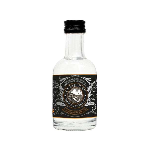 Lyme Bay Orange & Thyme Gin Miniature - 5cl