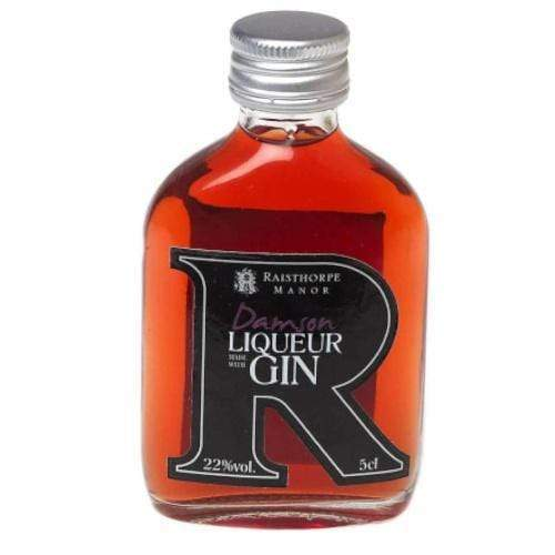 Raisthorpe Manor Damson Gin Liqueur Miniature - 5cl