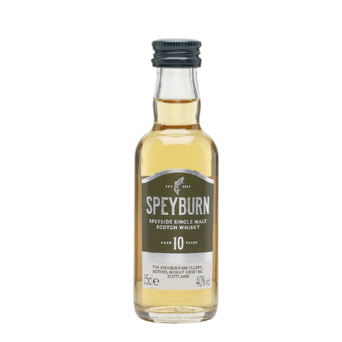 Speyburn 10 yr Single Malt Scotch Whisky Miniature - 5cl