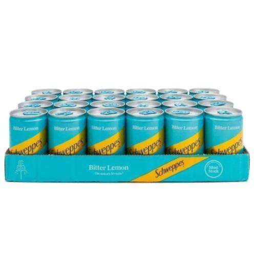 Schweppes Bitter Lemon Miniature Can (150ml)