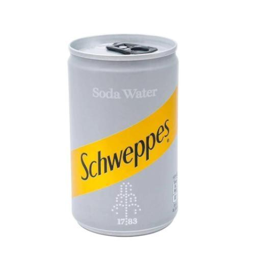 Schweppes Soda Water Miniature Can (150ml)