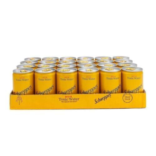 Schweppes Tonic Water Miniature Can (150ml)