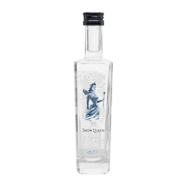 Snow Queen Organic Plain Vodka Miniature - 5cl