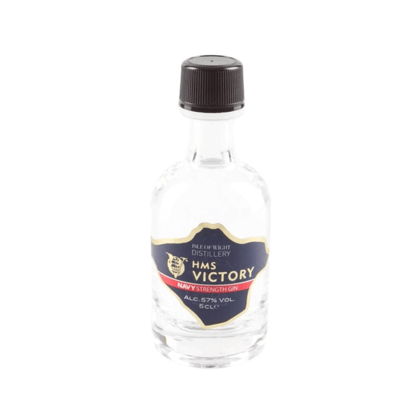 Wight HMS Victory Navy Strength Gin Miniature - 5cl