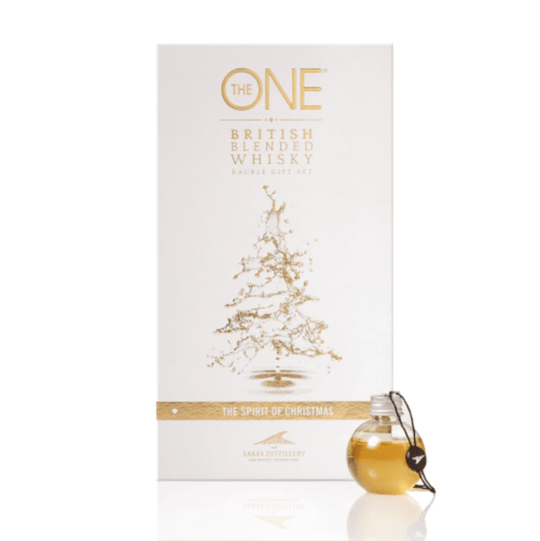 The One Lakes Distillery Blended Whisky Baubles Gift Set - 6 x 5cl