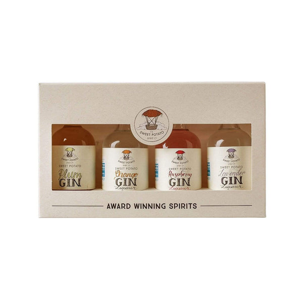 The Sweet Potato Flavoured Gin Gift Pack - 4 x 5cl