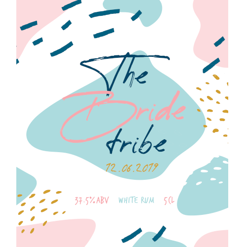 The Bride Tribe (White Rum Wedding Favour 5cl)