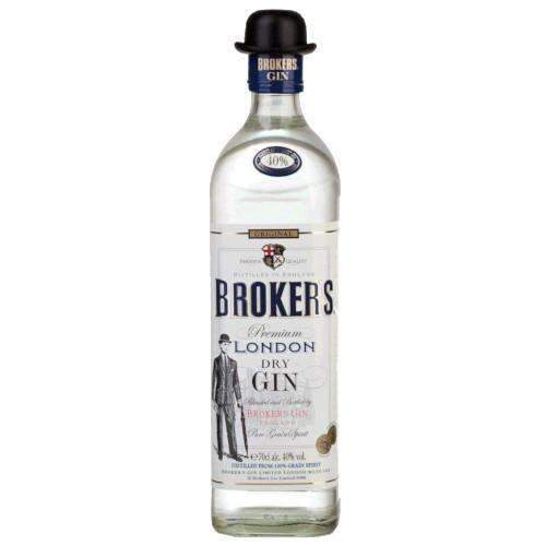 Just Miniatures:Broker's Premium London Dry Gin - 70cl
